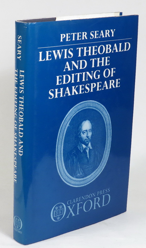 Image for Lewis Theobald and the Editing of Shakespeare