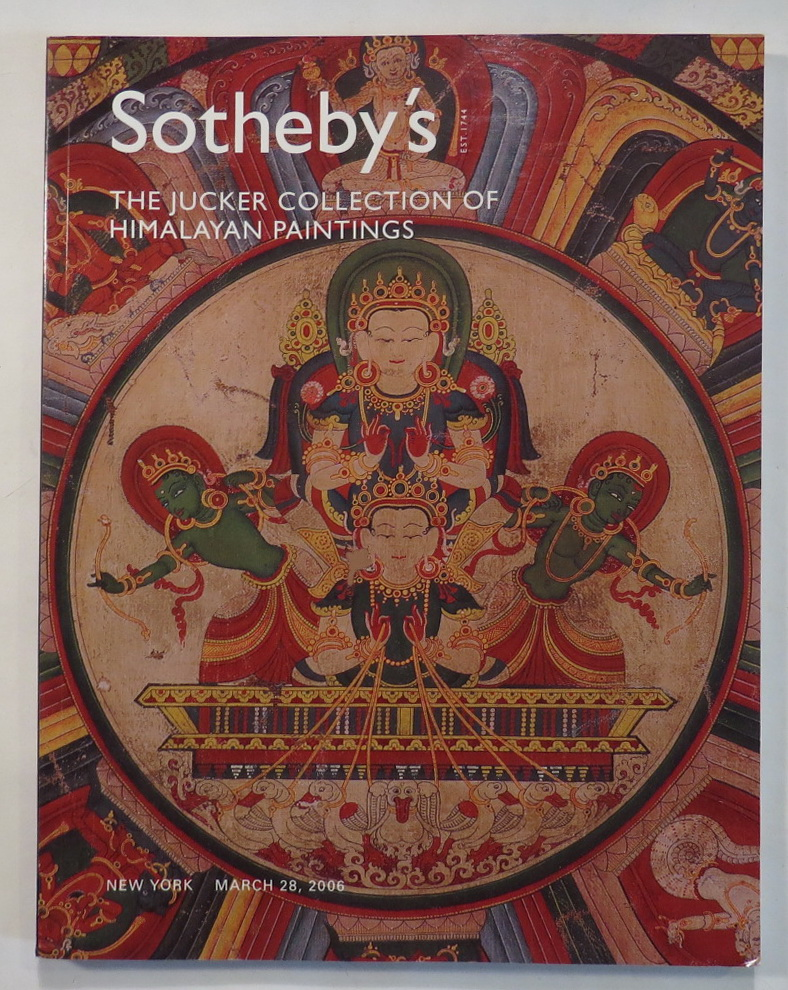 Image for The Jucker Collection of Himalayan Paintings [Sotheby's New York NO8169 - March 28, 2006]