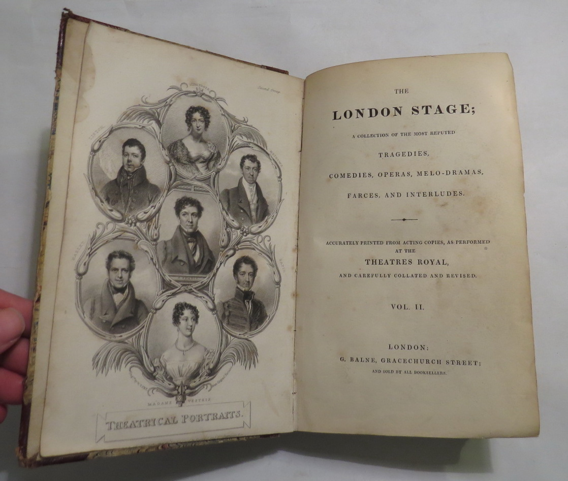 Image for The London Stage; A Collection of the Most Reputed Tragedies, Comedies, Operas, Melo-Dramas, Farces, and Interludes. [Volume Two only]