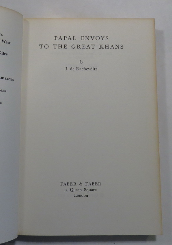 Image for Papal Envoys to the Great Khans