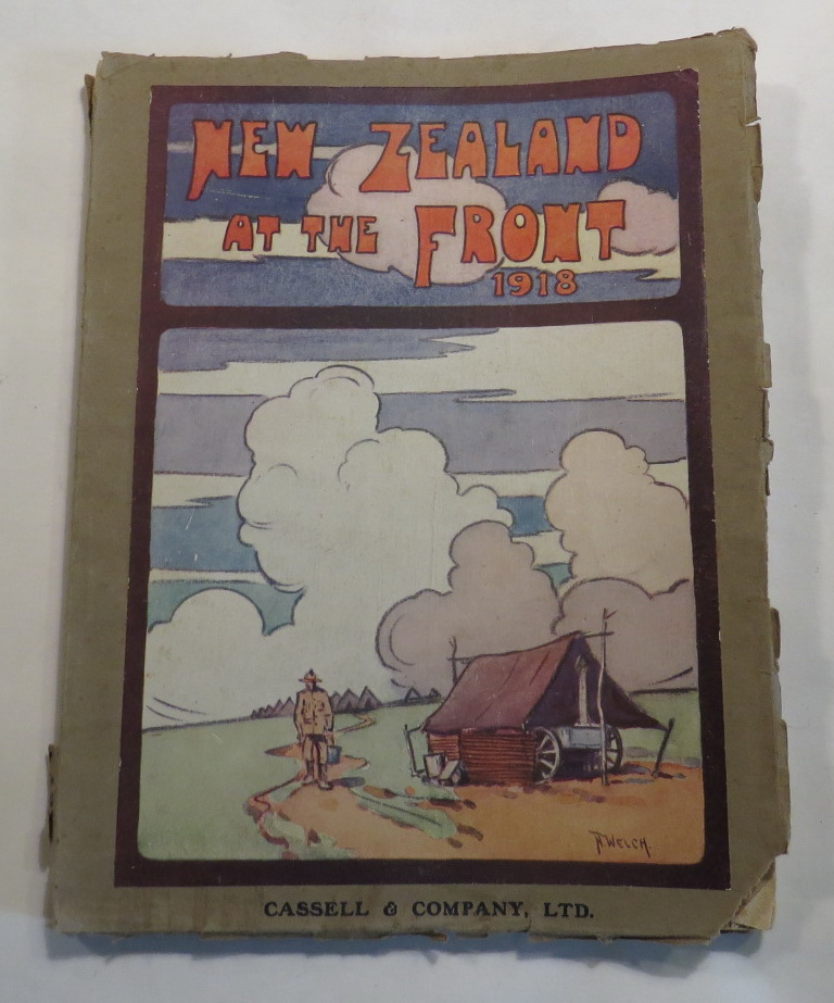 Image for New Zealand at the Front 1918