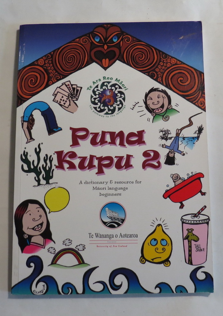 Image for Puna Kupu 2 - A Dictionary & Resource for Maori Language Beginners