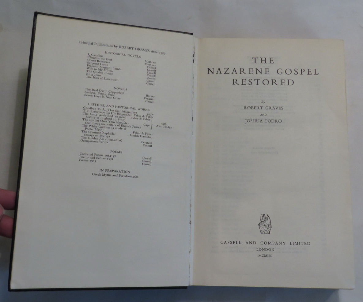 Image for The Nazarene Gospel Restored
