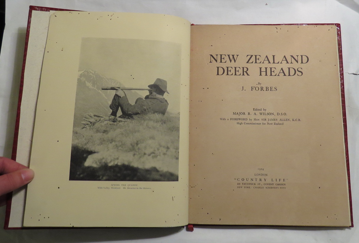 Image for New Zealand Deer Heads