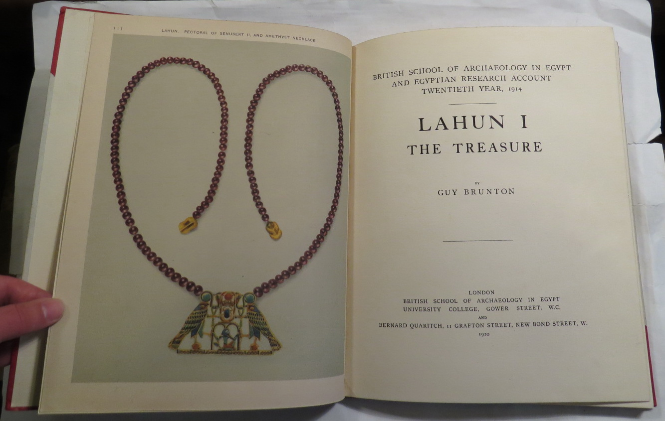 Image for Lahun I - The Treasure. British School of Archaeology in Egypt and Egyptian Research Account - Twentieth Year, 1914