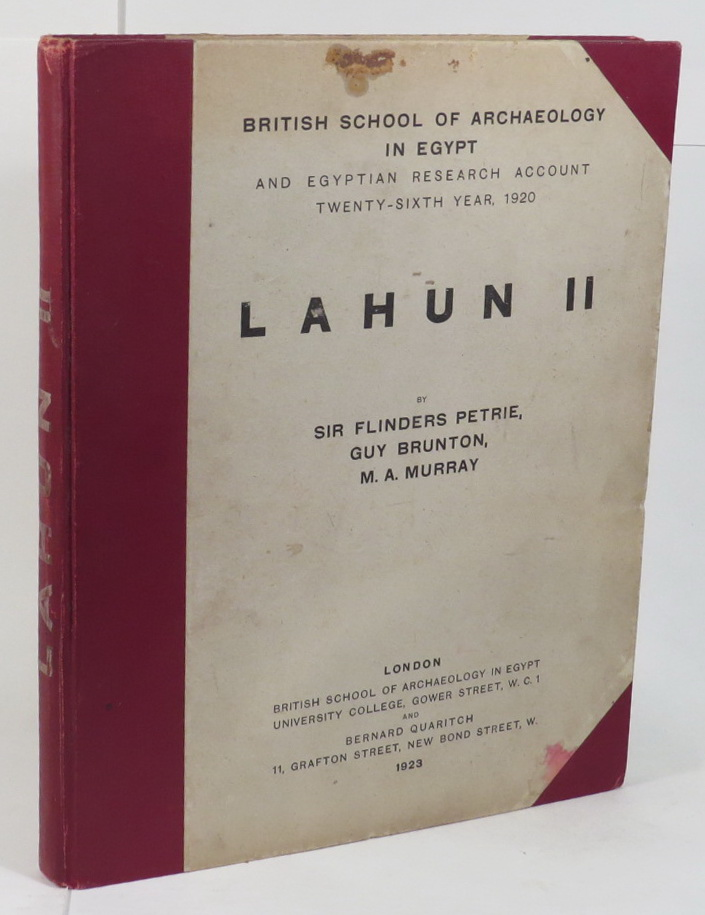 Image for Lahun II. British School of Archaeology in Egypt and Egyptian Research Account - Twenty-Sixth Year, 1920