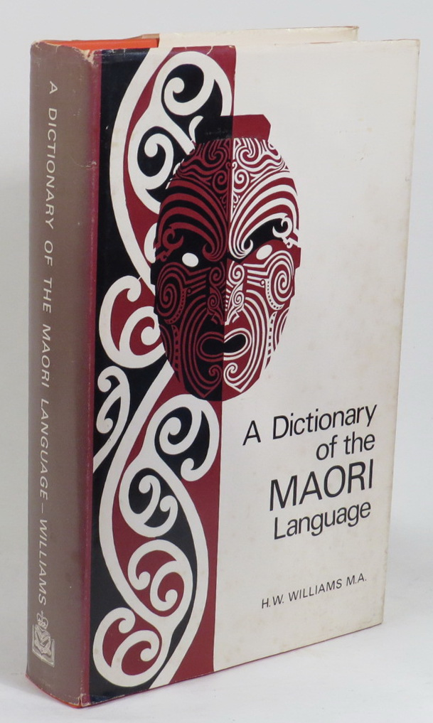 Image for A Dictionary of the Maori Language