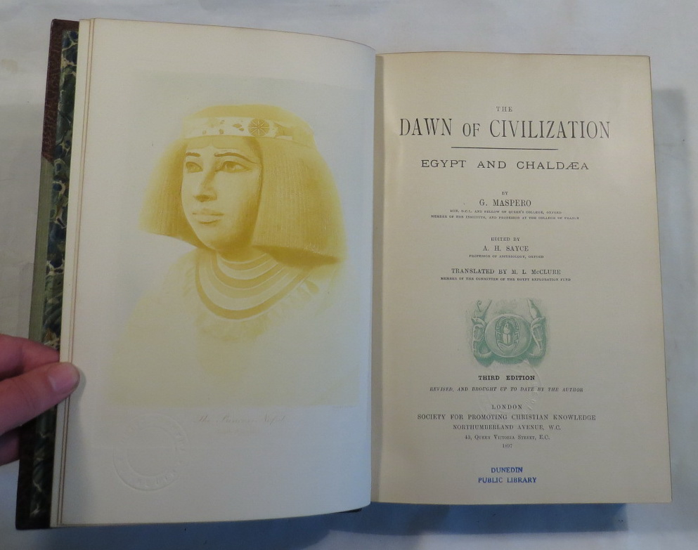 Image for The Dawn of Civilization - Egypt and Chaldaea