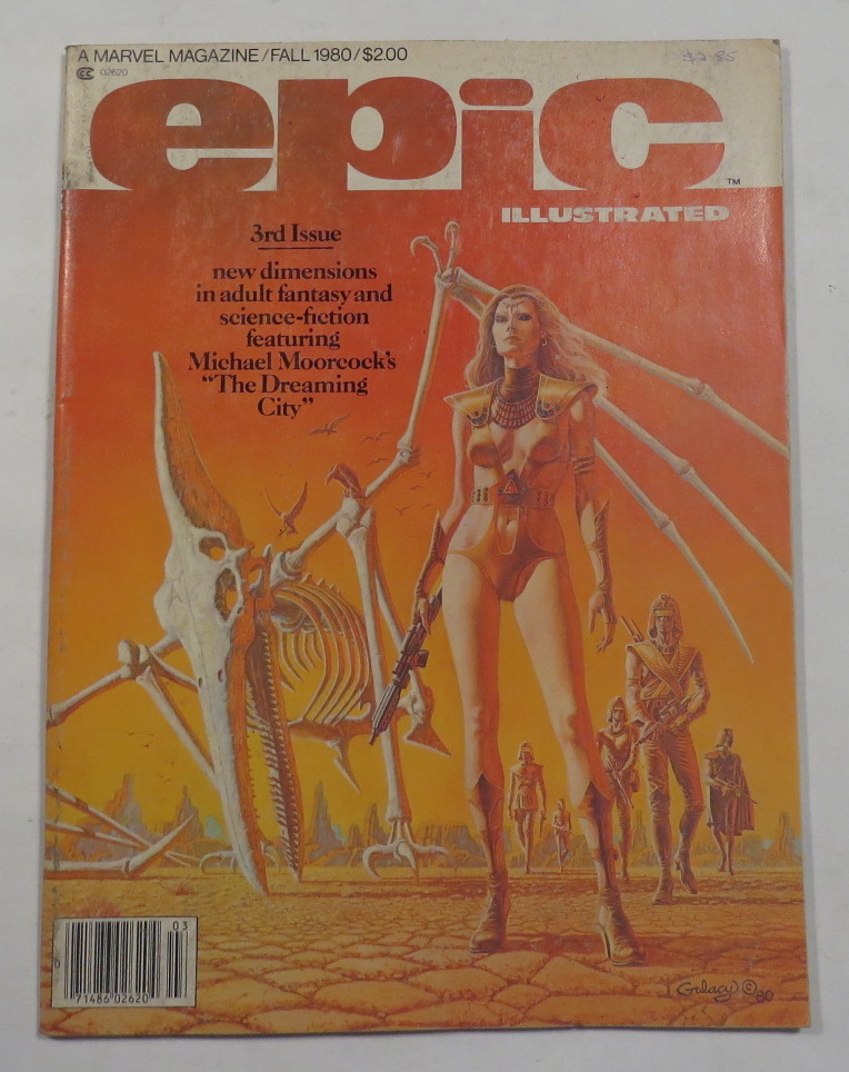 Image for Epic Illustrated - A Marvel Magazine - Vol. 1, No. 3 - Fall 1980