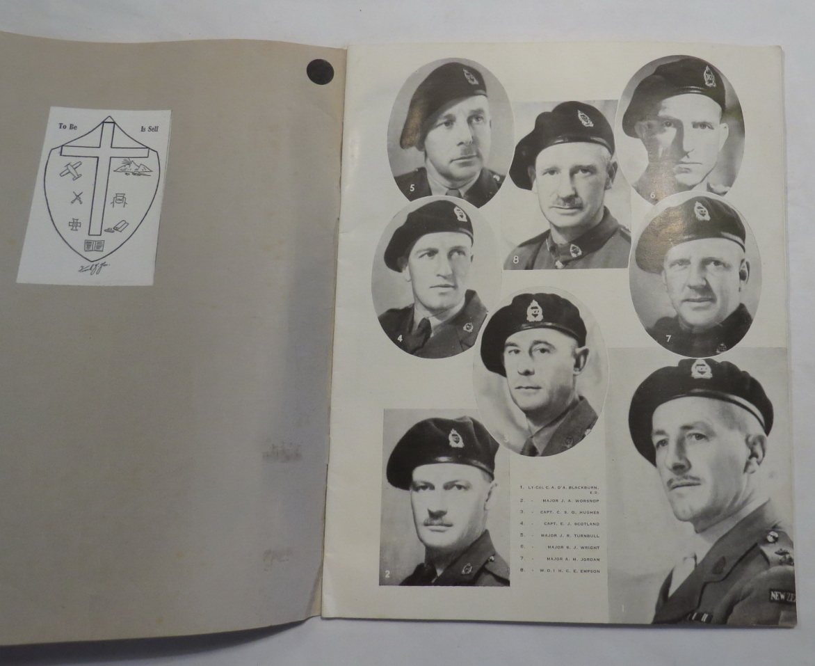 Image for The Black Beret 1941 1942 First Anniversary First Army Tank Battalion