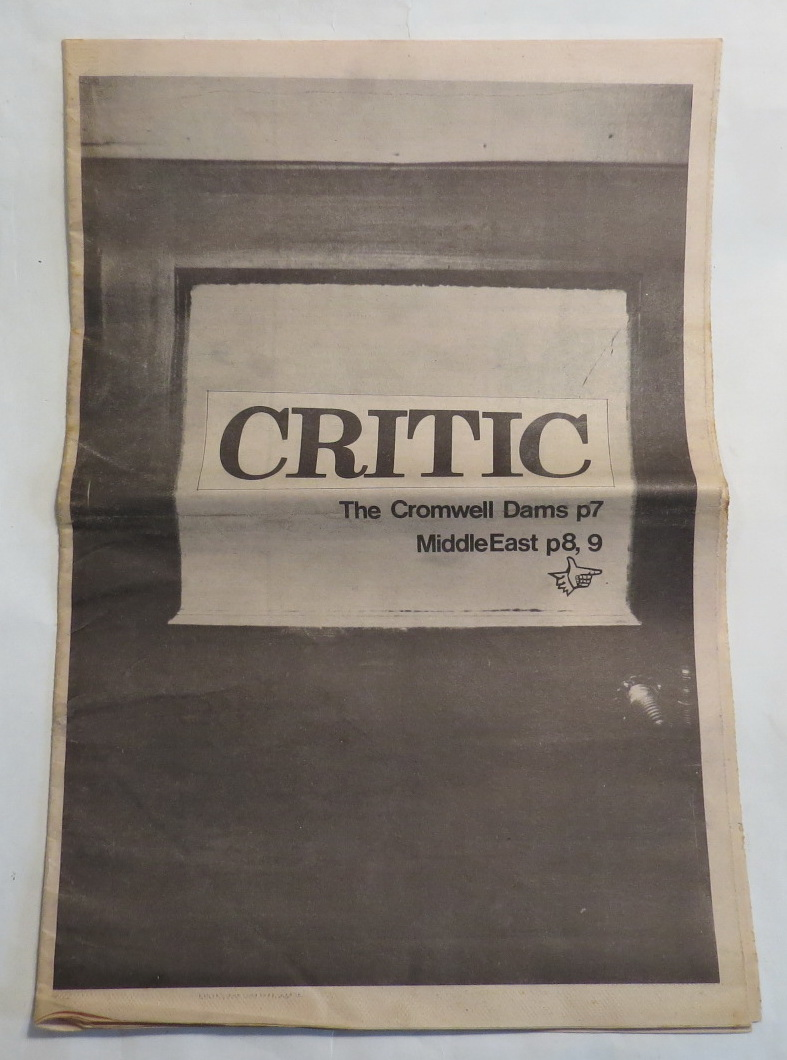Image for Critic - 25th June 1974 [Otago University student newspaper]