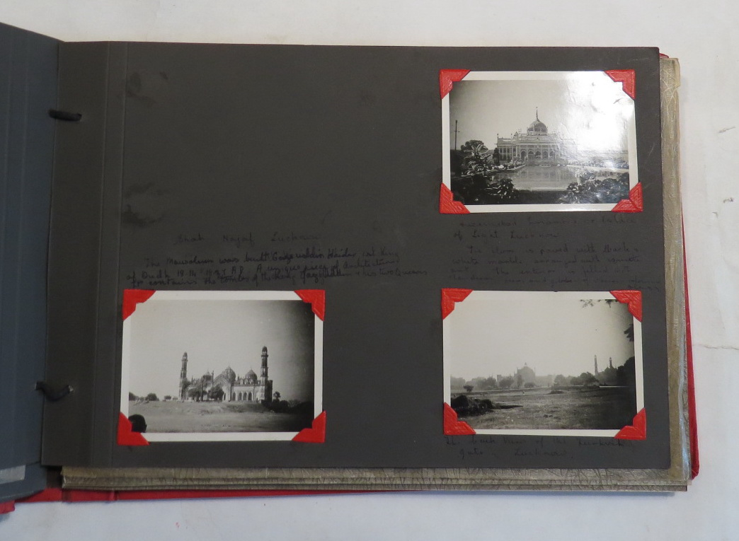 Image for [Photograph album - Lucknow]