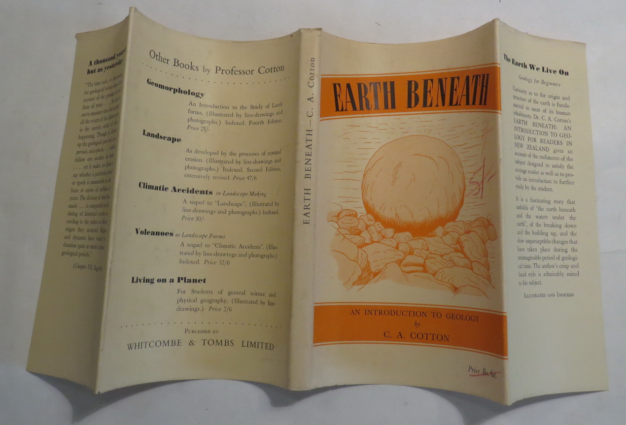 Image for Earth Beneath: An Introduction to Geology for Readers in New Zealand