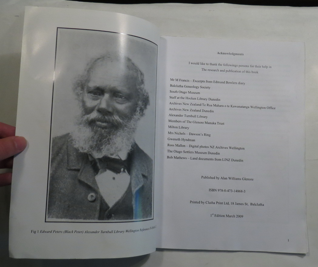 Image for Edward Peters (Black Peter) - The Discoverer of the First Workable Goldfield in Otago