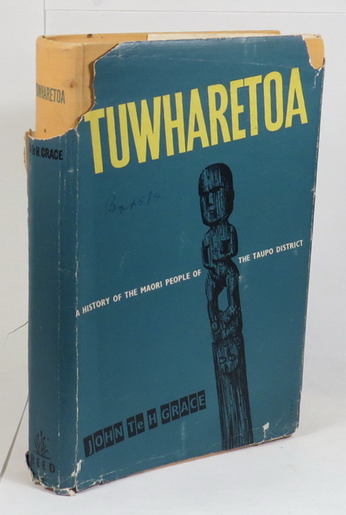 Image for Tuwharetoa - The History of the Maori People of the Taupo District
