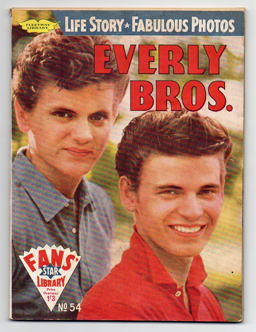 Image for The Everlys - Fans' Star Library, No. 54 [Everly Bros.]