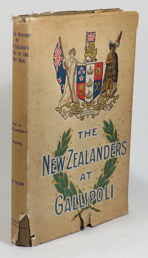 Image for The New Zealanders At Gallipoli (The Official History of New Zealand's Effort in the Great War. Volume I)