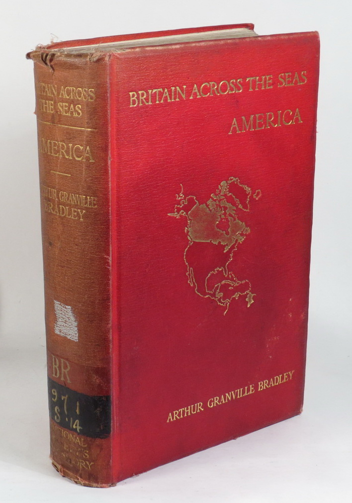 Image for Britain Across The Seas - America - A History and Description of the British Empire in America