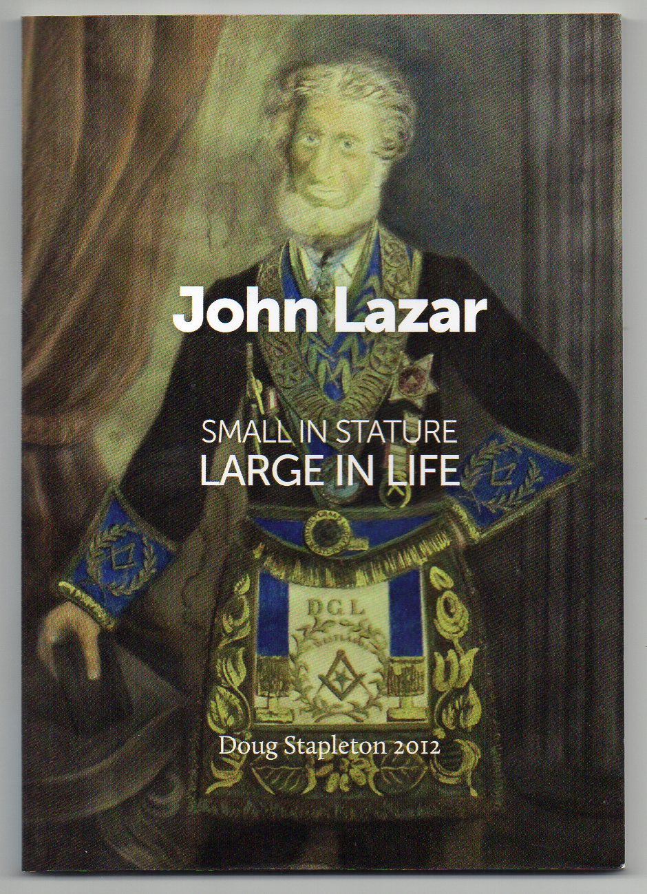 Image for John Lazar - Small in Stature - Large in Life - 1803-1879