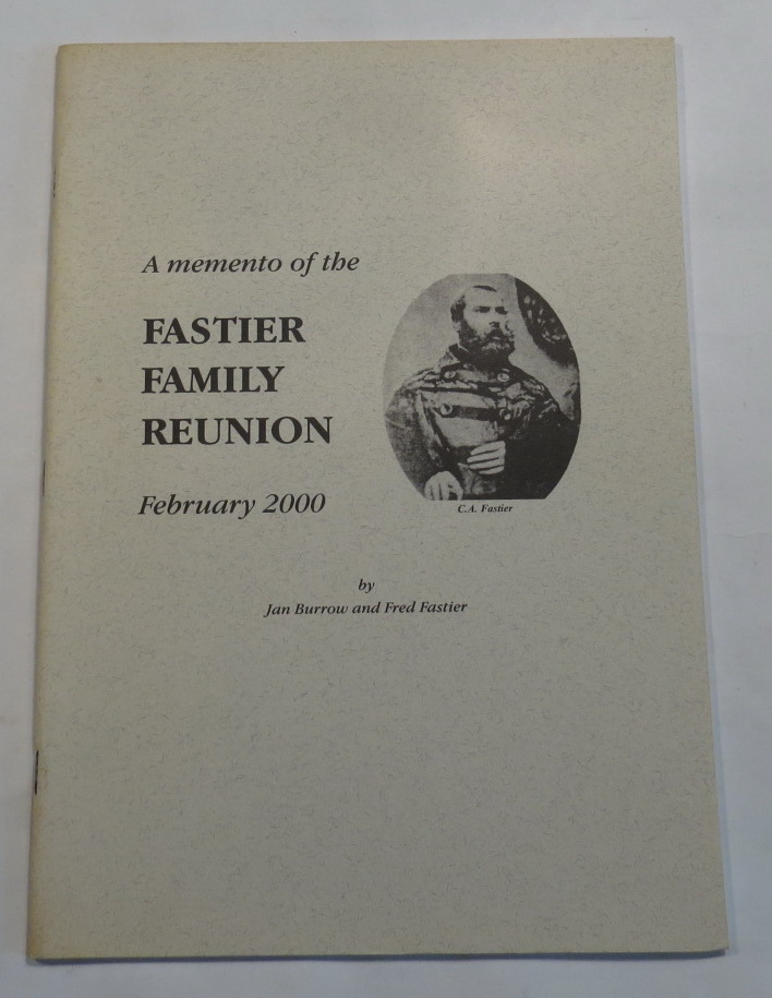 Image for A Memento of the Fastier Family Reunion - February 2000