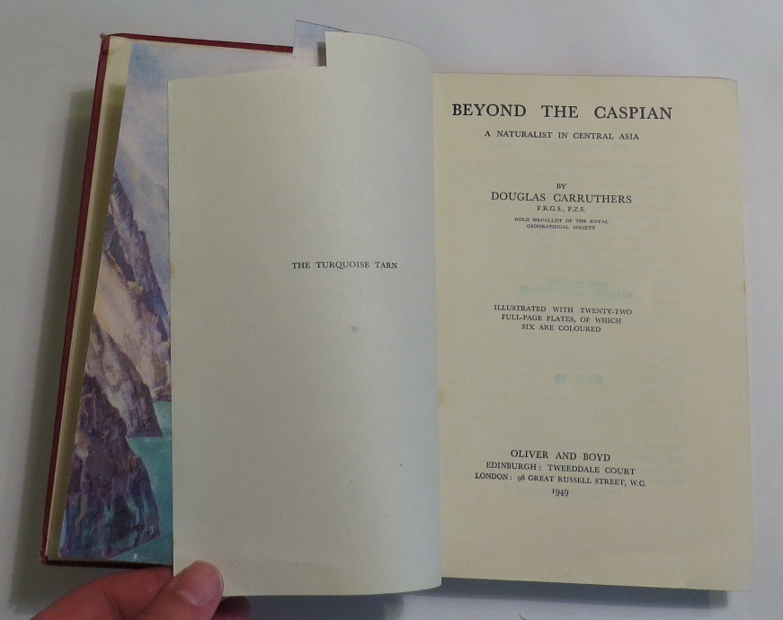 Image for Beyond the Caspian - A Naturalist in Central Asia