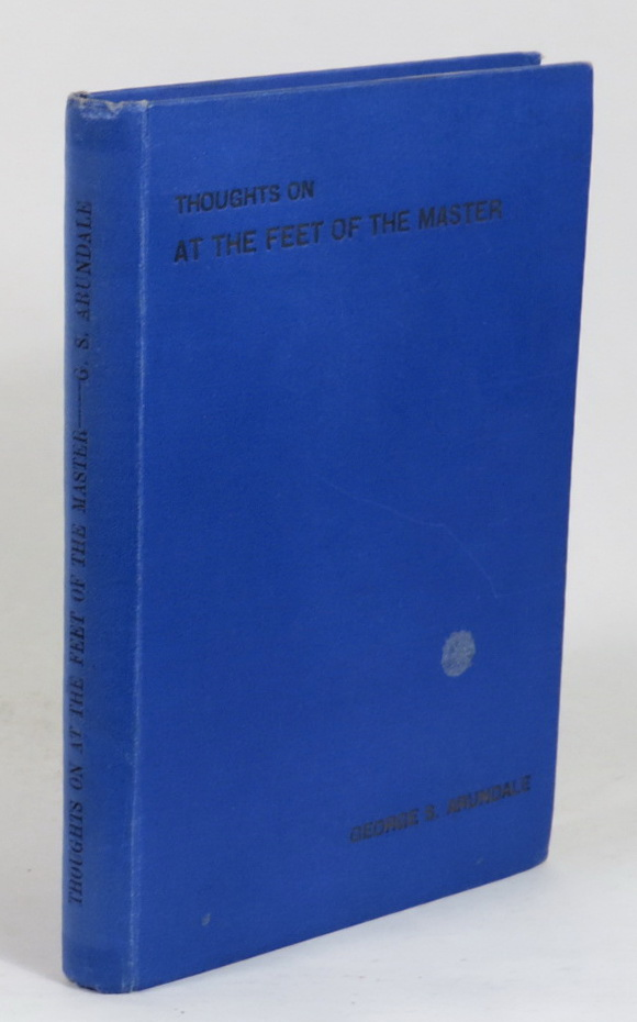 "Image for Thoughts on ""At the Feet of the Master"""