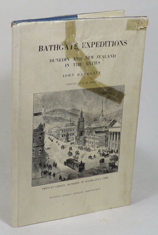 Image for Bathgate Expeditions - From New Zealand's Commercial Capital of the Sixties: Autobiographic Sketches by John Bathgate