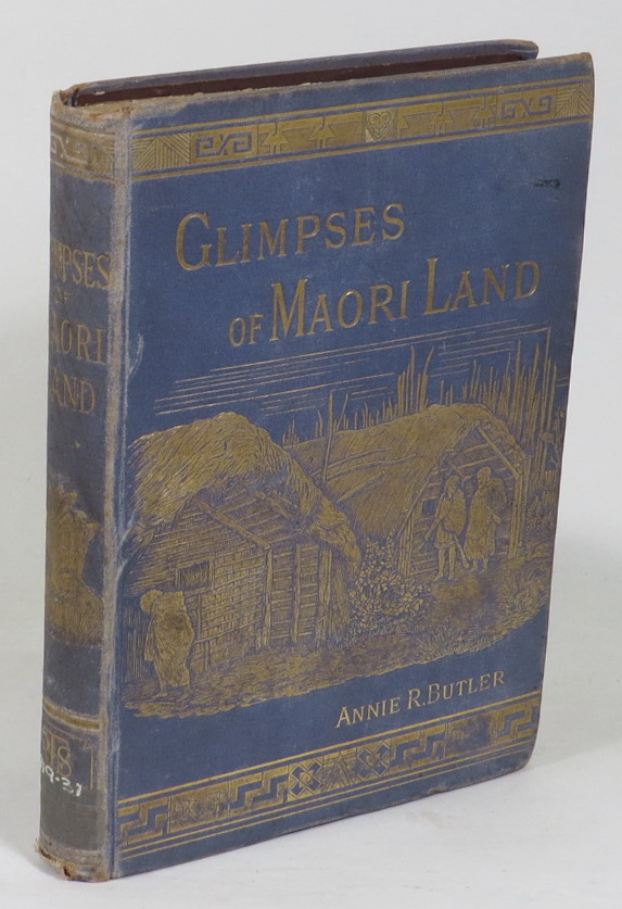 Image for Glimpses of Maori Land
