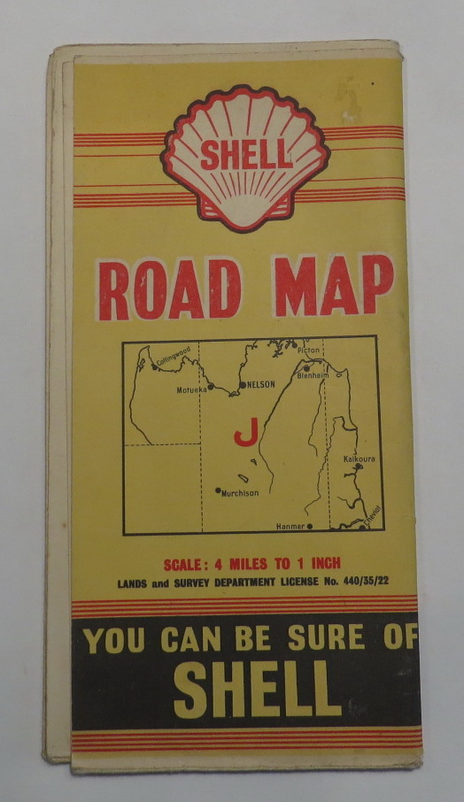 Image for Shell Road Map [J - Nelson]