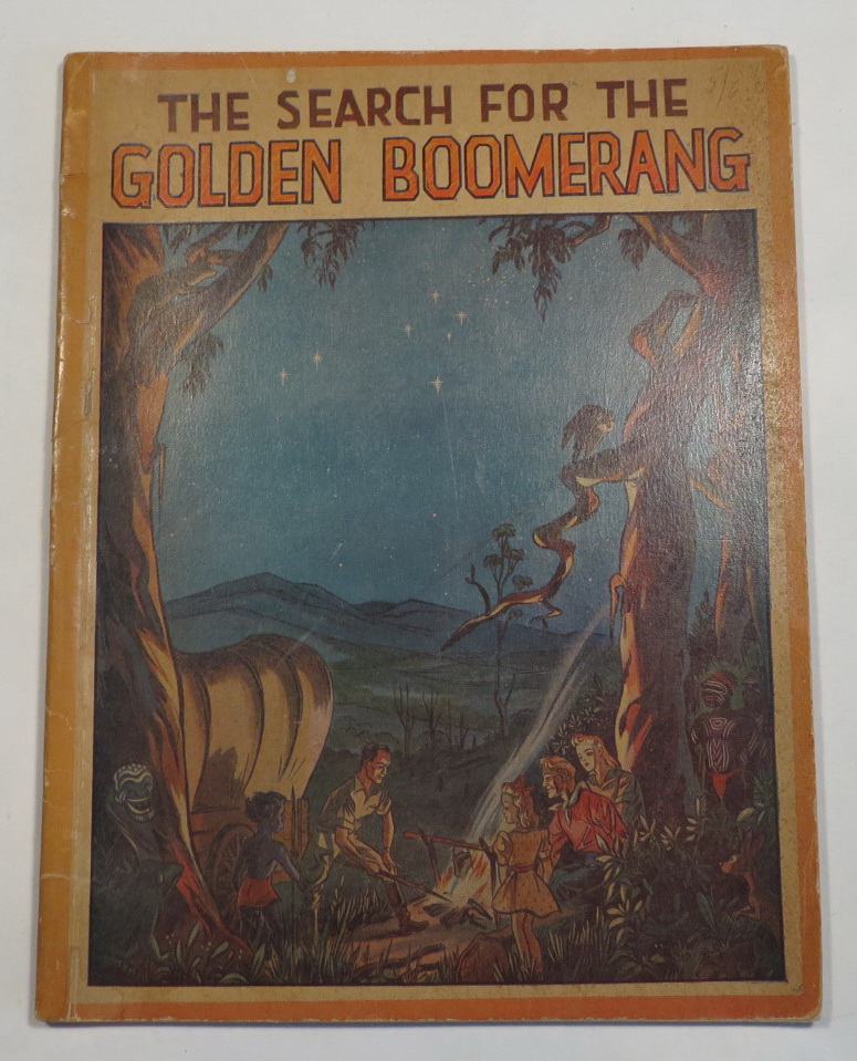 Image for The Seach for the Golden Boomerang
