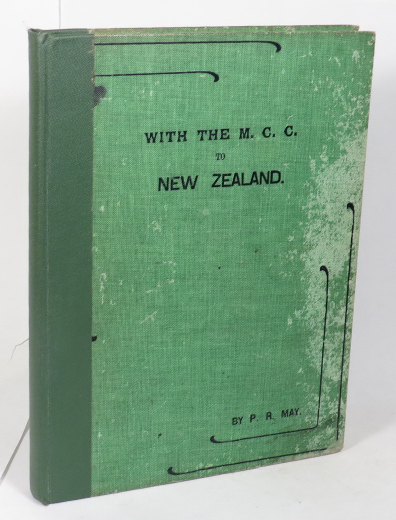 Image for With the M.C.C. to New Zealand