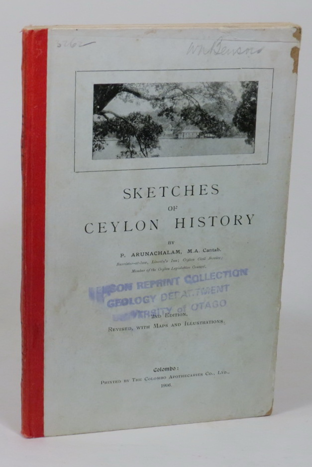 Image for Sketches of Ceylon History