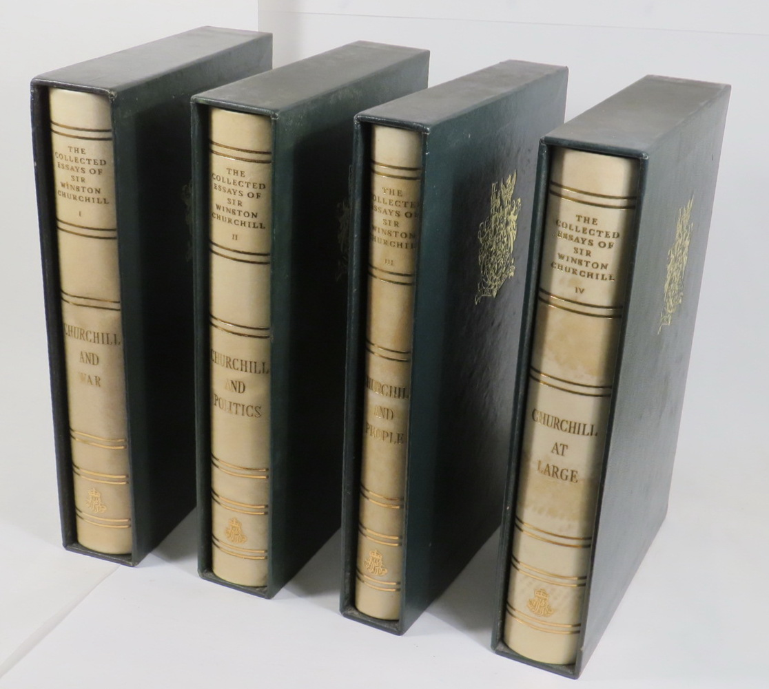 Image for The Collected Essays of Sir Winston Churchill - Centenary Edition [4 volumes]
