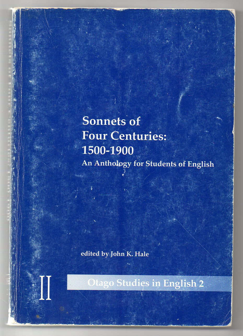 Image for Sonnets of Four Centuries 1500-1900 - An Anthology for Students of English
