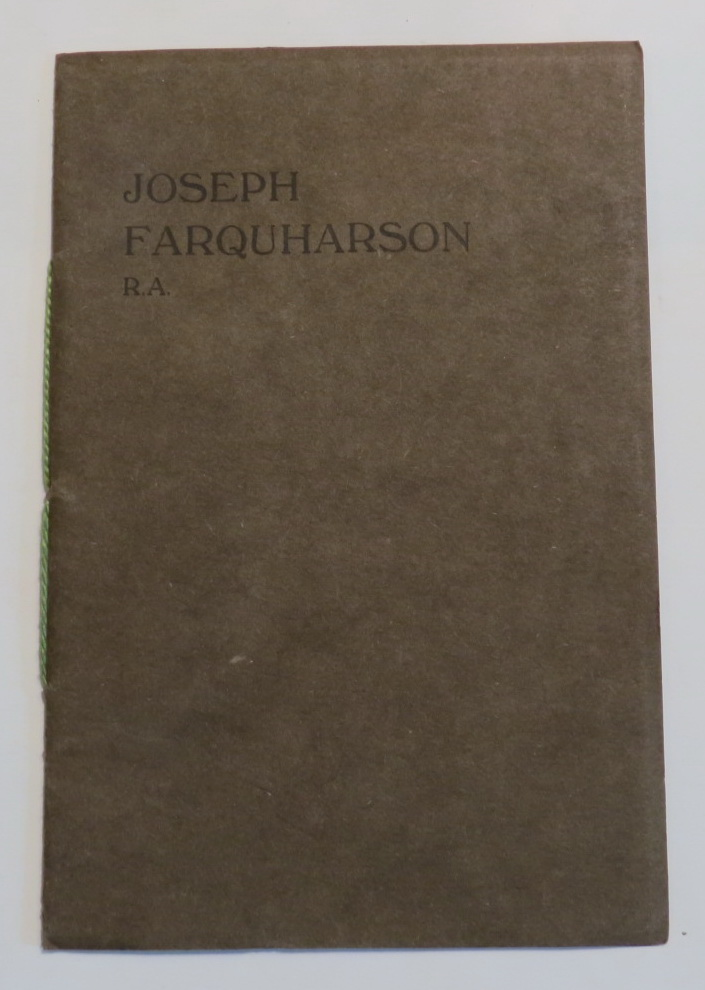 Image for Catalogue of Etchings & Engravings by Josephy Farquharson, R. A.