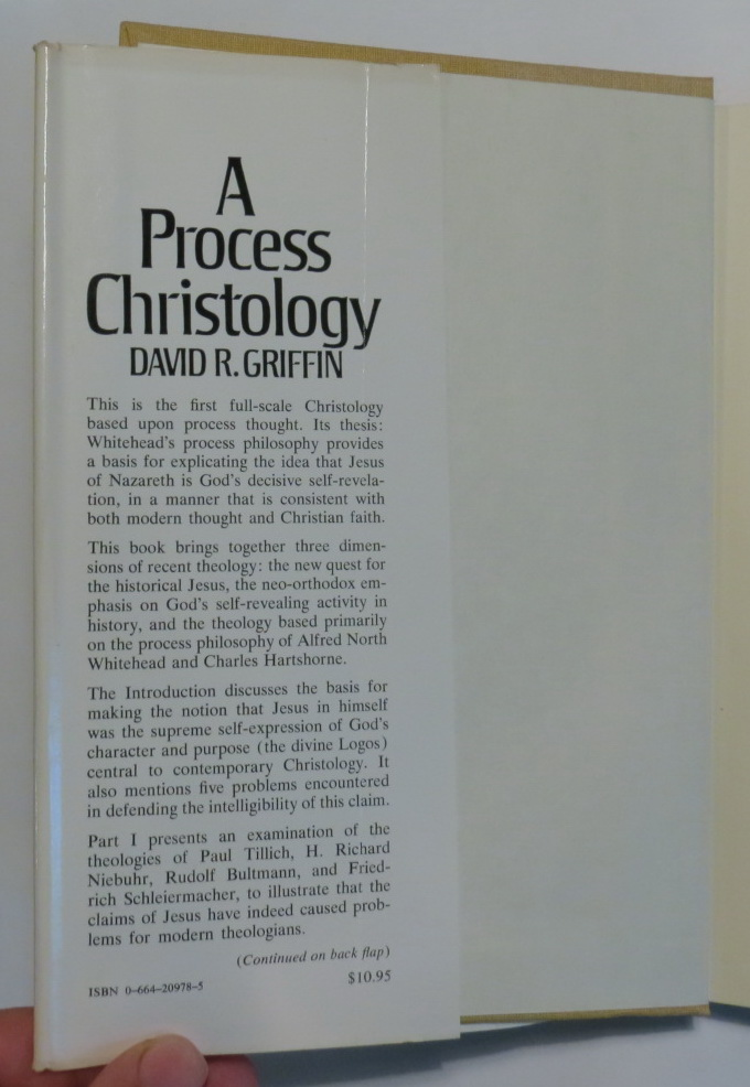 Image for A Process Christology