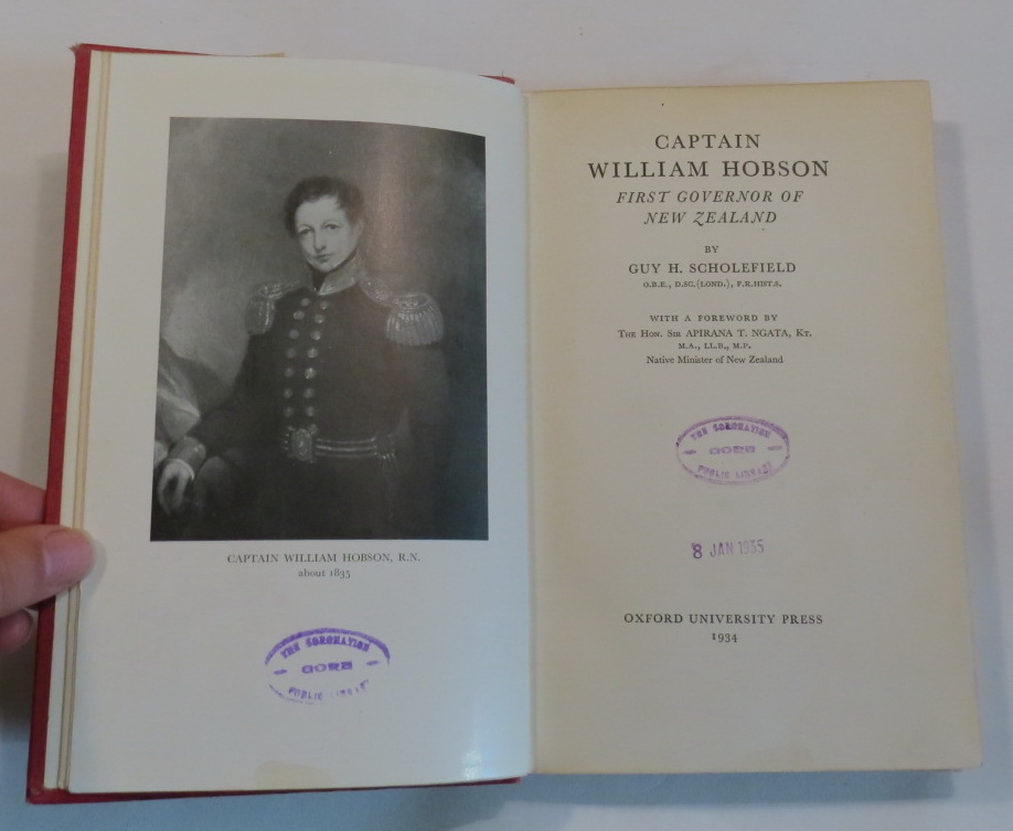 Image for Captain William Hobson - First Governor of New Zealand