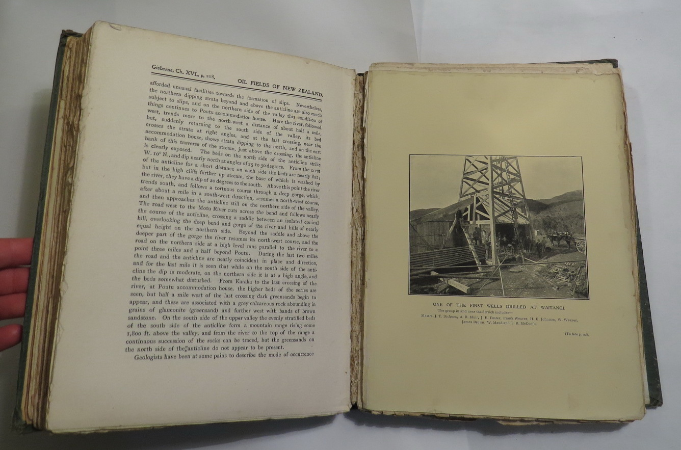 Image for The Oil Fields of New Zealand - With Some Critical Notes on the Colonial Oil Situation of To-Day