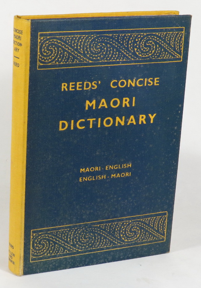Image for Reeds' Concise Maori Dictionary - Maori-English - English-Maori - Proverbial Sayings
