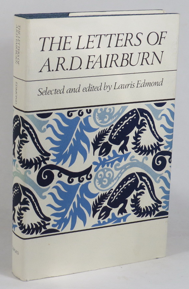Image for The Letters of A. R. D. Fairburn - Selected and Edited by Lauris Edmond