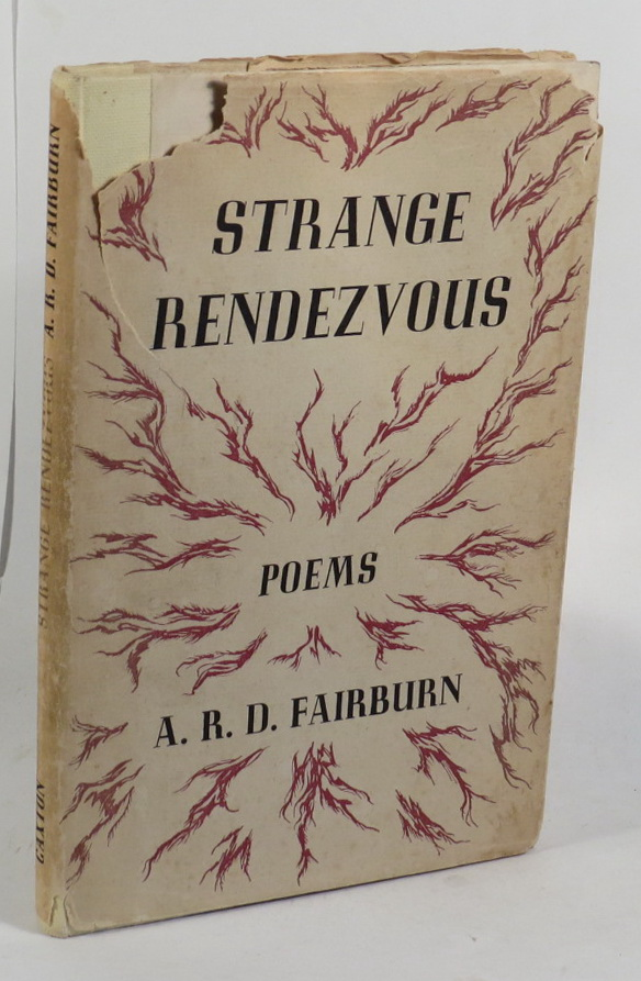 Image for Strange Rendezvous: Poems 1929-1941 with Additions by A. R. D. Fairburn