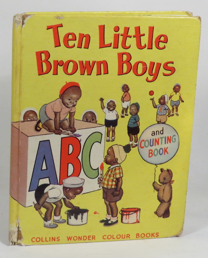 Image for Ten Little Brown Boys - A. B. C. and Counting Book