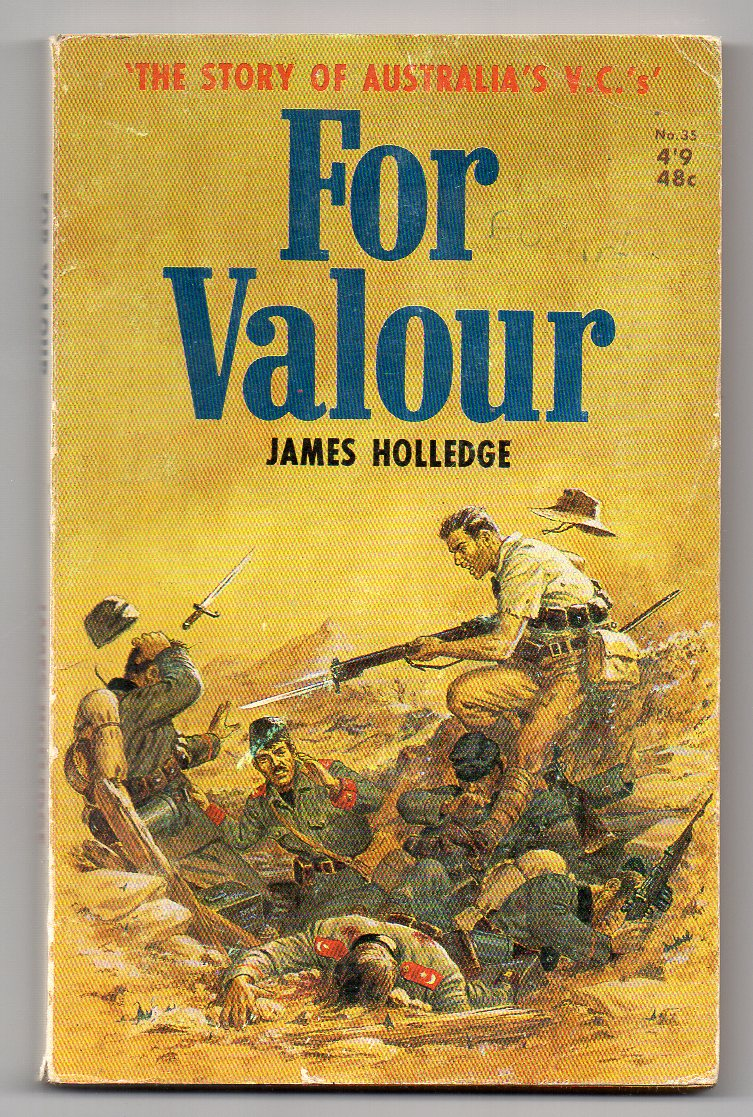Image for For Valour [James Holledge series, #35]