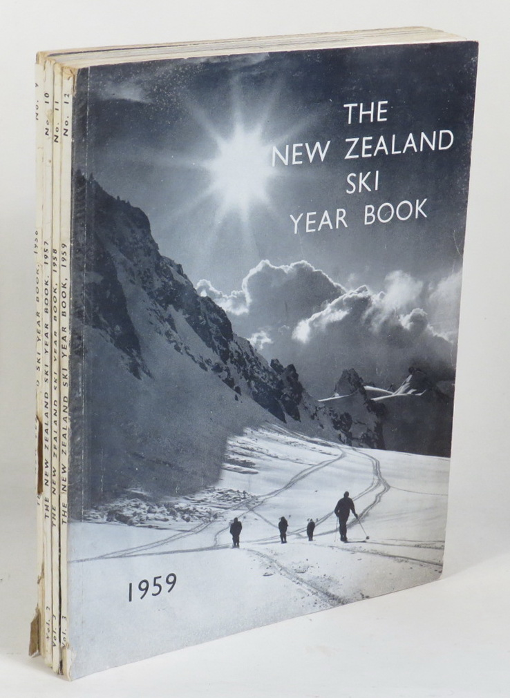 Image for The New Zealand Ski Year Book. [4 issues:1956; 1957; 1958; 1959]