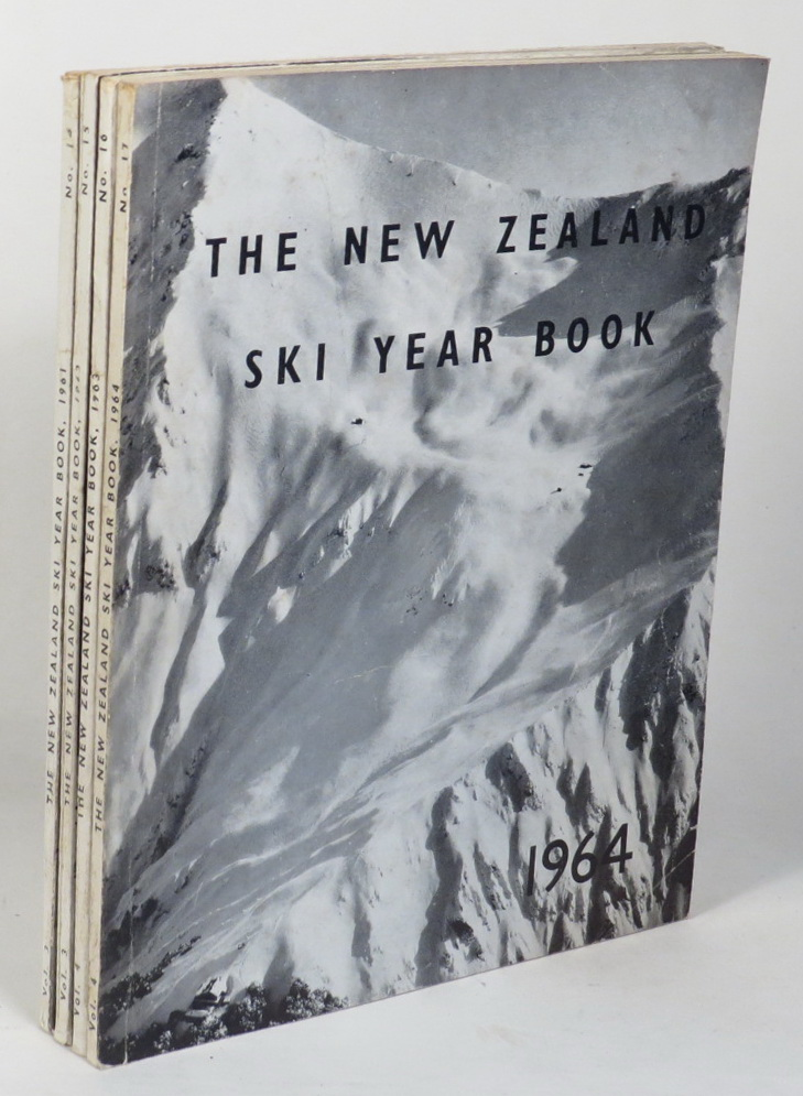 Image for The New Zealand Ski Year Book. [4 issues:1961; 1962; 1963; 1964]