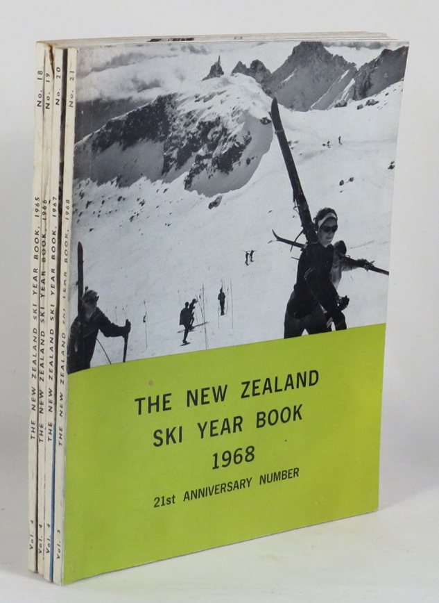 Image for The New Zealand Ski Year Book. [4 issues: 1965; 1966; 1967; 1968]