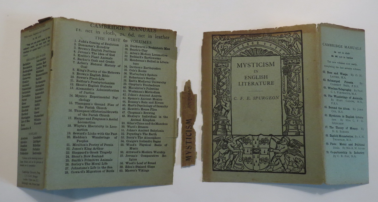 Image for Mysticism in English Literature
