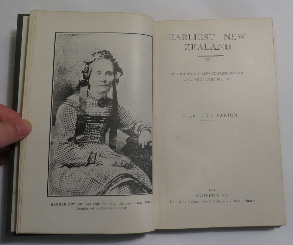 Image for Earliest New Zealand. The Journals and Correspondence of the Rev. John Butler