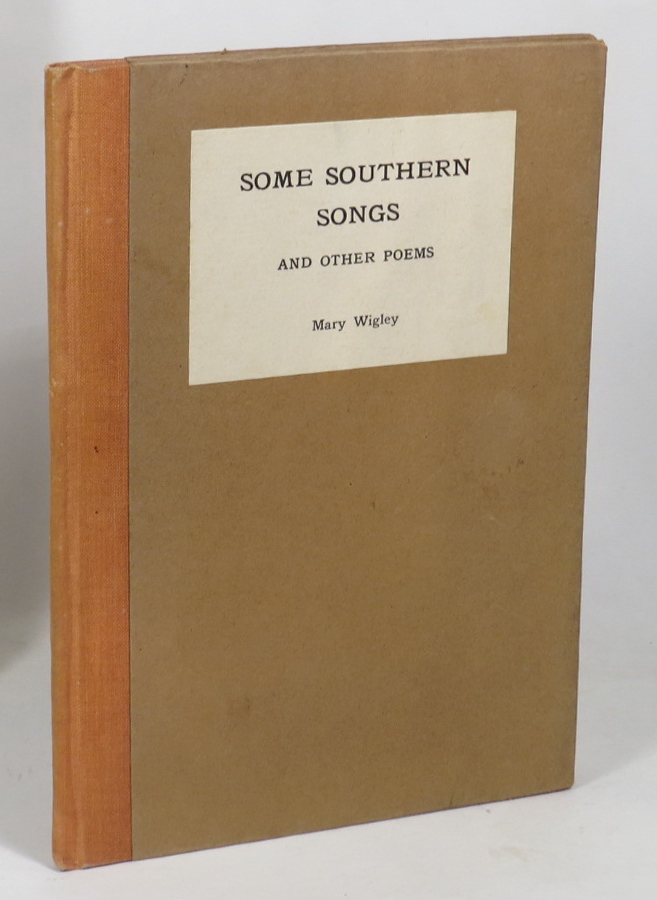 Image for Some Southern Songs and Other Poems