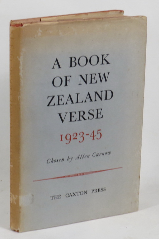 Image for A Book Of New Zealand Verse 1923-45